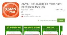Ứng dụng xem XSMN - phần mềm xổ số miền Nam minh ngọc trực tiếp