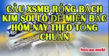 Cầu XSMB rồng bạch kim soi lô đề miền Bắc hôm nay theo tổng chuẩn