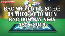 Bạc nhớ lô tô, số đề ra theo lô tô miền bắc hôm nay ngày 18/6/2019