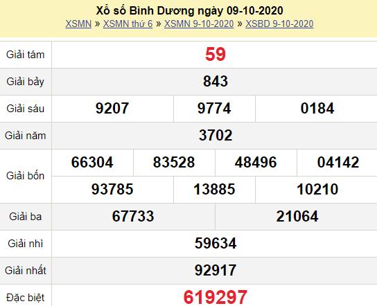 XSBD 9/10/2020