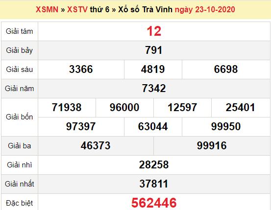 XSTV 23/10/2020