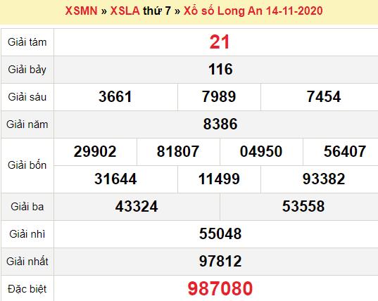 XSLA 14/11/2020