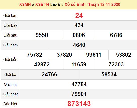 XSBTH 12/11/2020