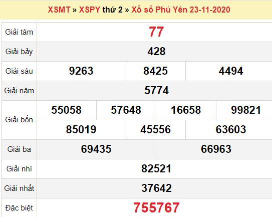 XSPY 23/11/2020