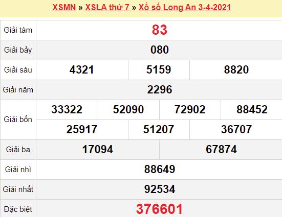 XSLA 3/4/2021