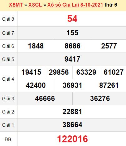 XSGL 8/10/2021
